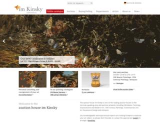 imkinsky.at screenshot