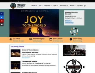 immanuelpalatine.org screenshot