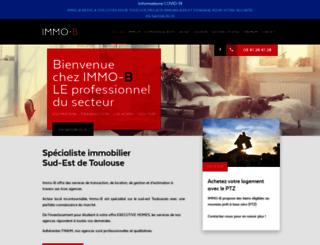 immo-b.com screenshot