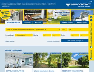 immo-contract.com screenshot