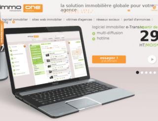 immo-one.com screenshot