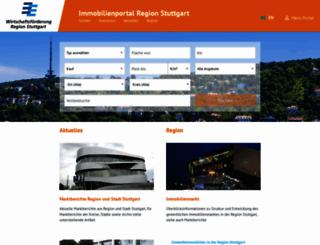 immo.region-stuttgart.de screenshot