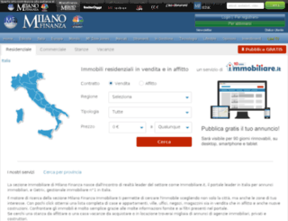 immobiliare.milanofinanza.it screenshot
