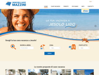 immobiliaremazzini.com screenshot
