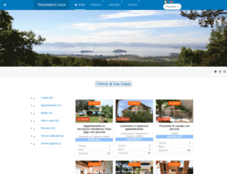 immobiliaretrasimeno.com screenshot
