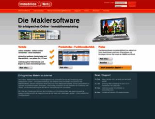 immobilien-at-webcore.de screenshot