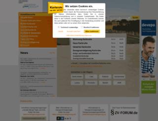 immobilien-karlsruhe.de screenshot