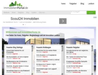 immobilienportal.de screenshot