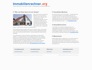 immobilienrechner.org screenshot