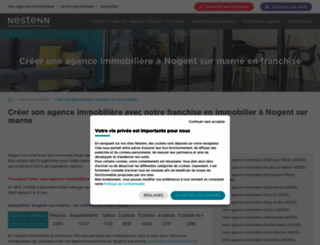 immobilier-nogent-sur-marne.solvimo.com screenshot