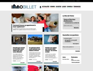 immobillet.com screenshot