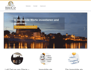 immocap-fonds.de screenshot