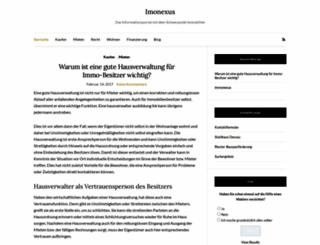 immonexus.de screenshot