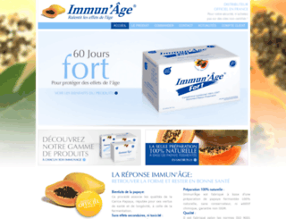 immunage.fr screenshot
