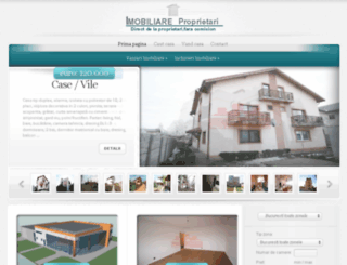 imobiliareproprietari.ro screenshot