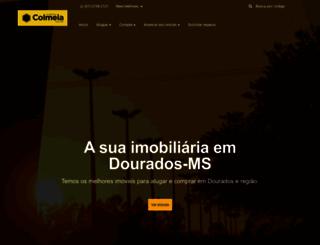imobiliariacolmeia.com.br screenshot