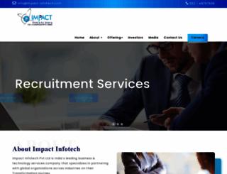 impact-infotech.com screenshot
