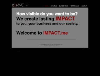 impact-me.com screenshot