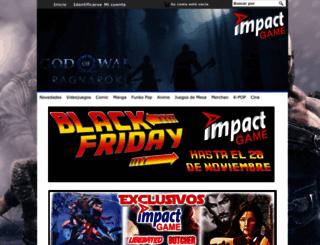 impactgame.es screenshot
