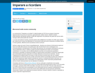 impararearicordare.com screenshot