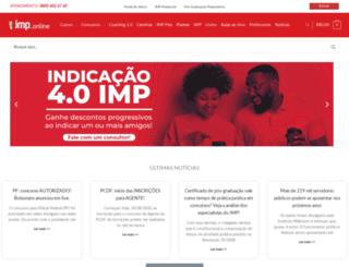 impconcursosonline.com.br screenshot