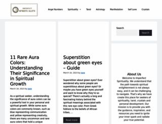 imperfectspirituality.com screenshot