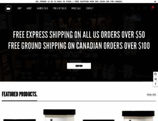 imperialbarberproducts.com screenshot
