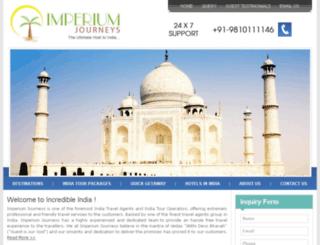 imperiumjourneys.com screenshot