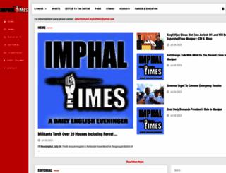 imphaltimes.com screenshot