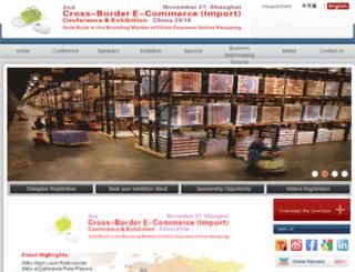 import.crossborder-e-commerce.com screenshot