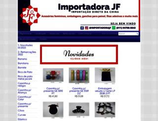importadorajf.com.br screenshot