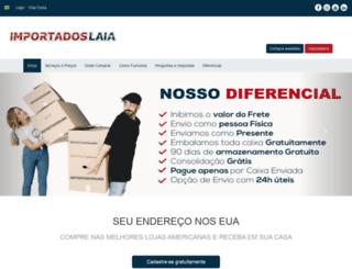 importadoslaia.com.br screenshot