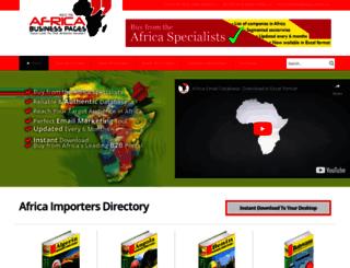 importers.africa-business.com screenshot