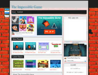 impossiblegame.org screenshot