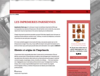 imprimerie-paris.org screenshot