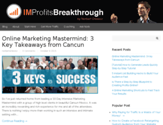 improfitsbreakthrough.com screenshot