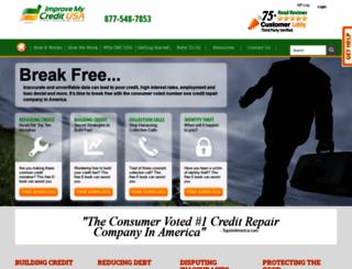 improvemycreditusa.com screenshot