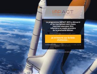 impulsion-action.com screenshot