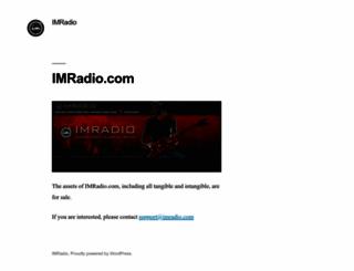 imradio.com screenshot
