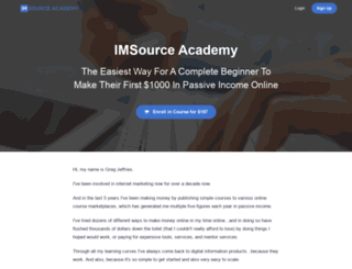 imsourceacademy.com screenshot