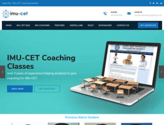 imu-cet.com screenshot