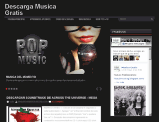 imusicag.blogspot.cl screenshot