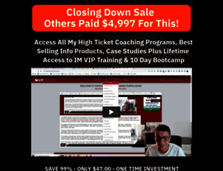 imviptraining.com screenshot