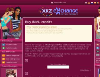 imvucredits.com screenshot