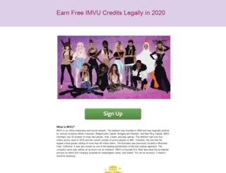 imvuzone.com screenshot