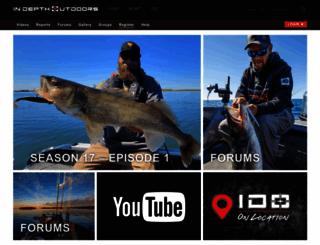 in-depthoutdoors.com screenshot