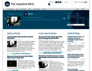 in-mind.org screenshot
