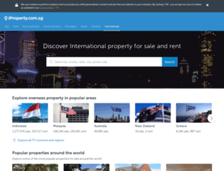in.iproperty.com screenshot