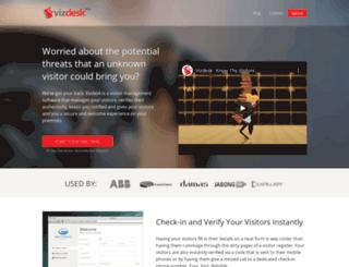 in.vizdesk.com screenshot