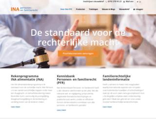 ina-pfr.nl screenshot